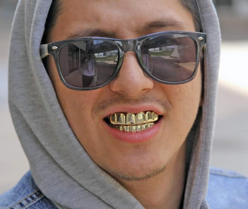 14k Player Style Gold Grillz Best Value At Deezgrillz