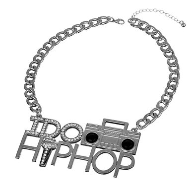 Boombox Chunky Chain Necklace