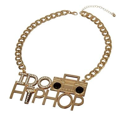 Boombox And Mic Necklace