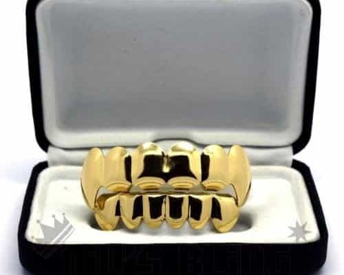 Gold Plated Vampire Grillz