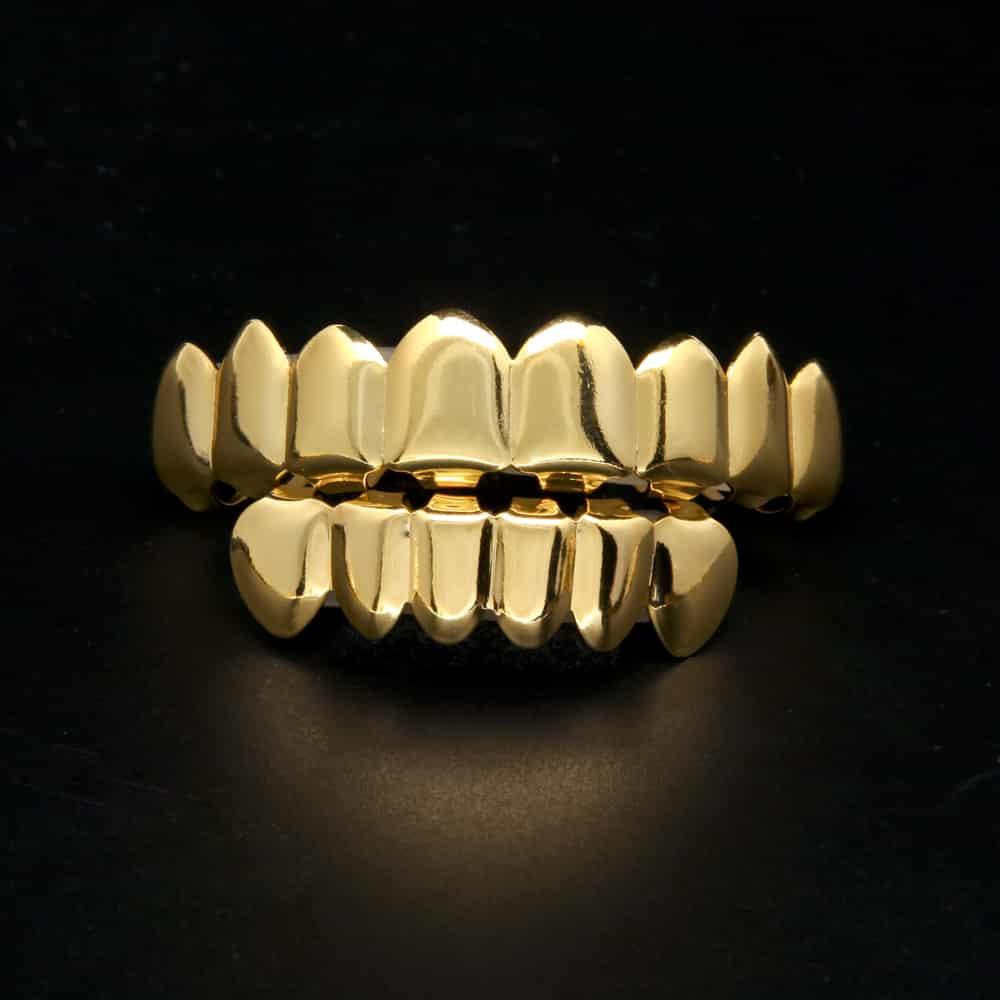 Gold Diamond Grillz Cheap