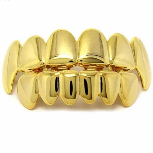 Fanged Gold Grillz