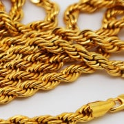 Gold Plated Hip Hop Chain