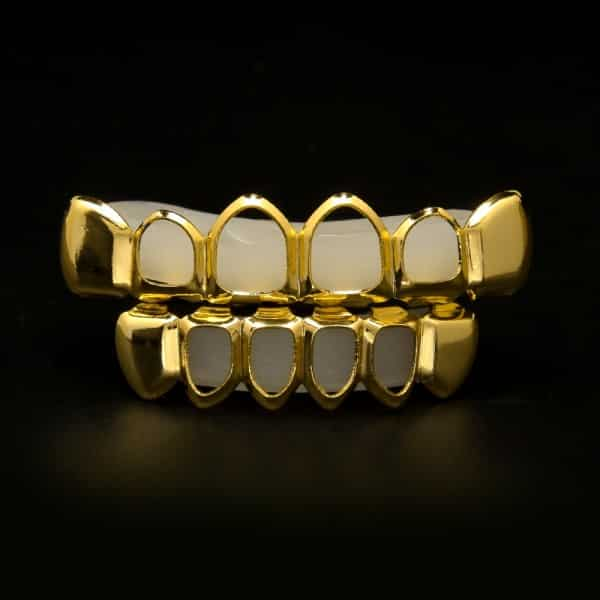 14K Gold Open Face Set