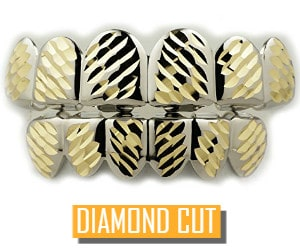 diamond cut grillz