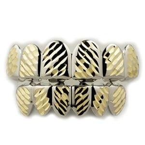 White gold diamond cut