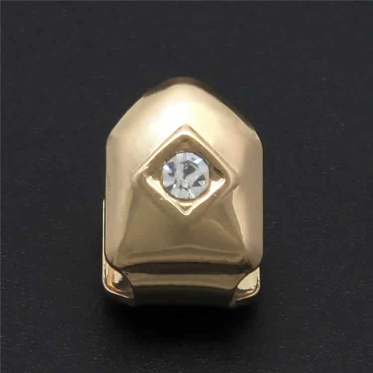 Gold Diamond Tooth Cap