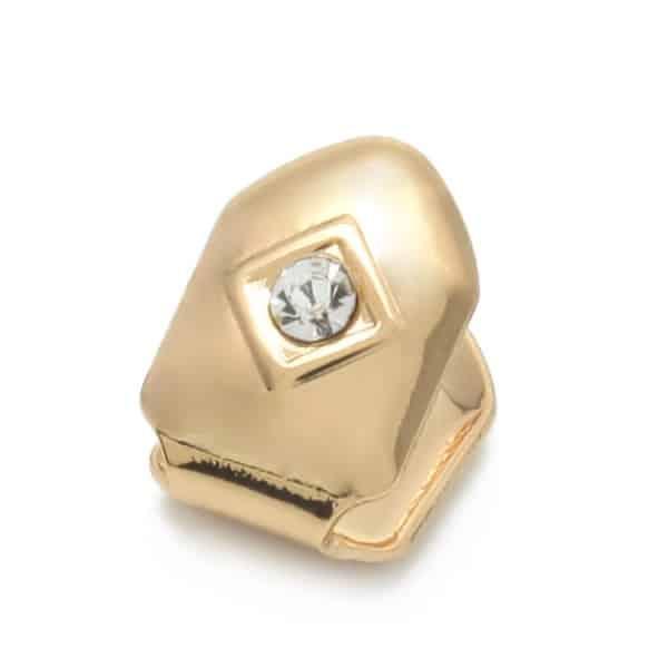 Single tooth cz diamond