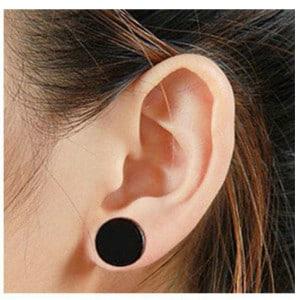 Stainless steel earring