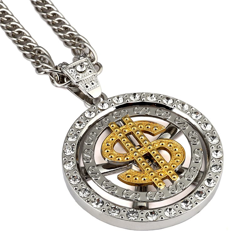 gold necklace new jewelry crypto pendant product bitcoin btc ardson cryptocurrency