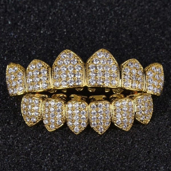 Micro-Pave Grillz