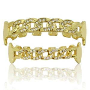 Semi-Open Chain Link Grillz