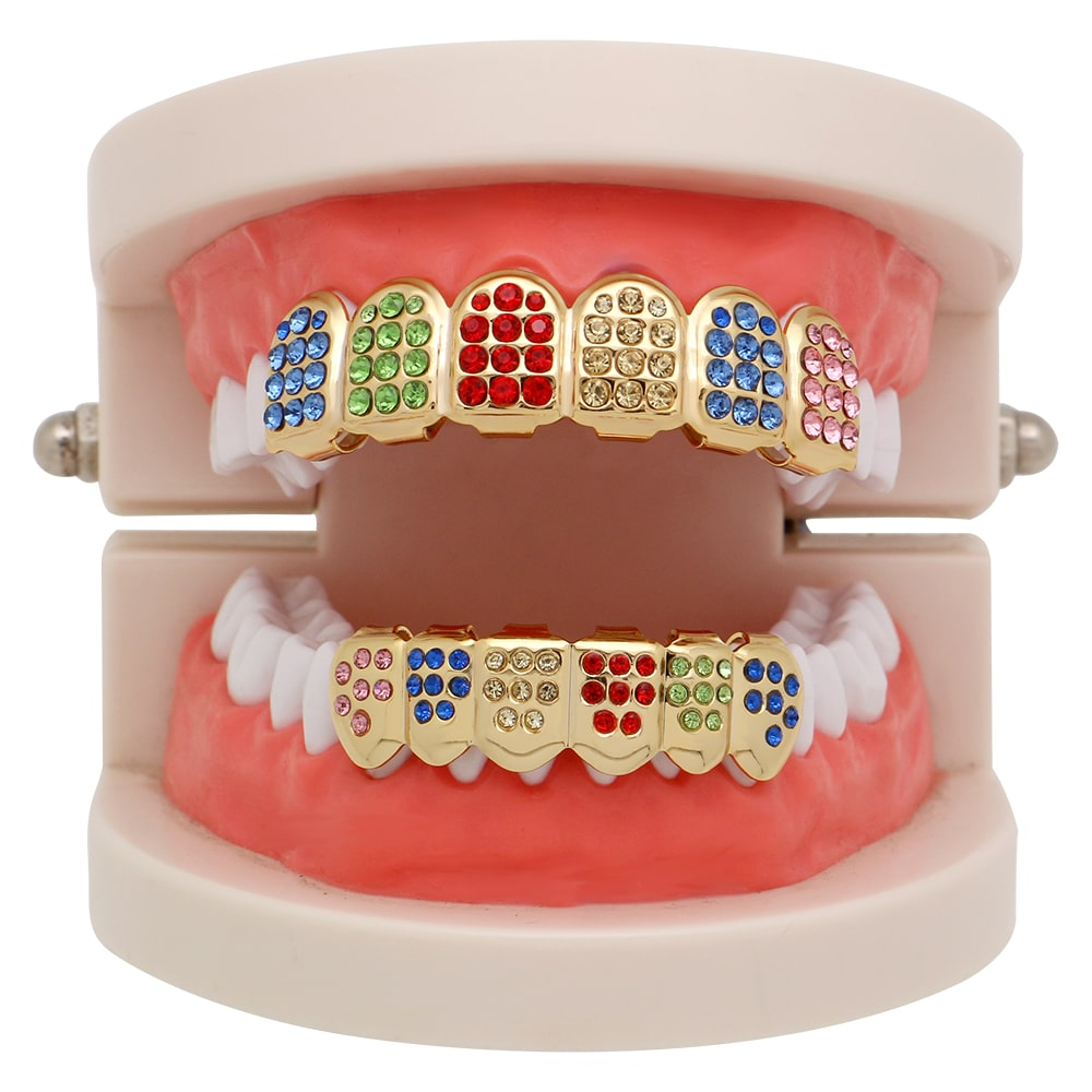 colored grills